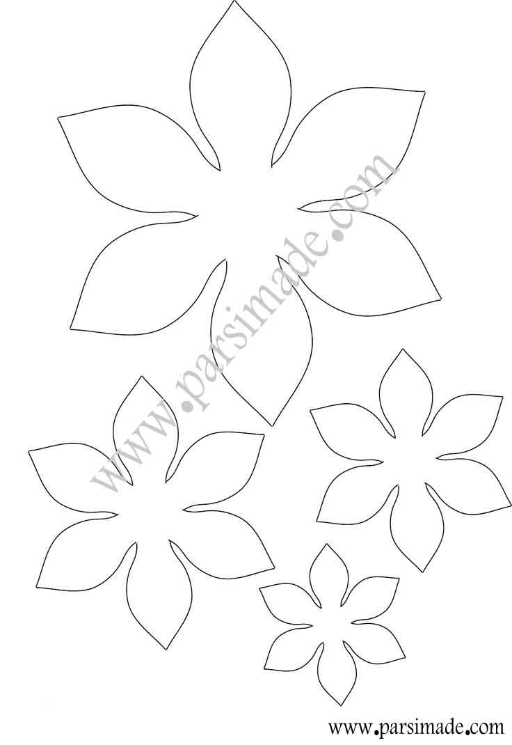 مدل پروانه نمدی آموزش ساخت گل های نمدی:پروژه شماره 14.