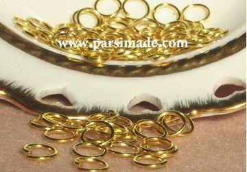 تصویر حلقه اتصال طلایی