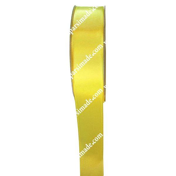 روبان گروگرین 2.5 سانتی زرد