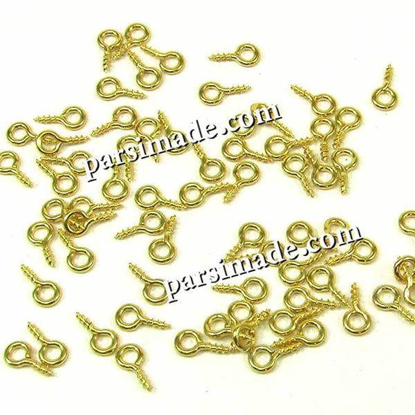 حلقه علامت سوال طلایی