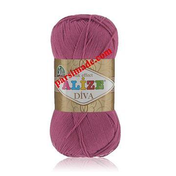 رنگ فوشیا ALIZE DIVA - FUCHSIA (130)