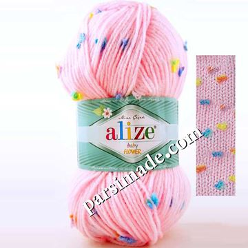 ALiZE Baby Flower  رنگ صورتی روشن