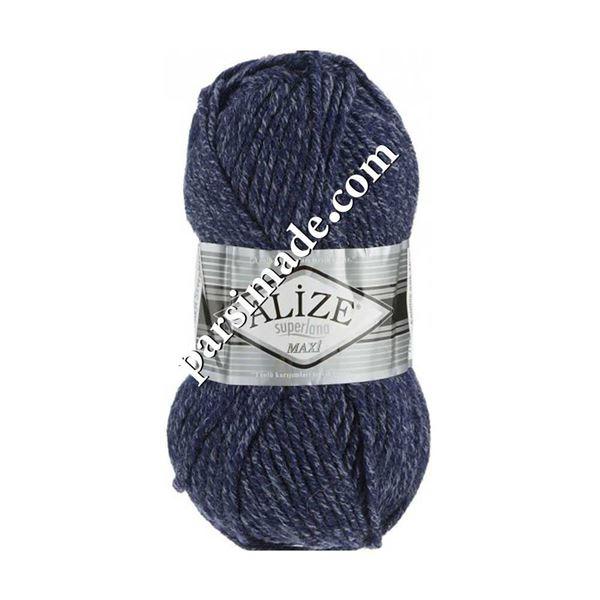 ALiZE Superlana Maxi -  رنگ سرمه ای