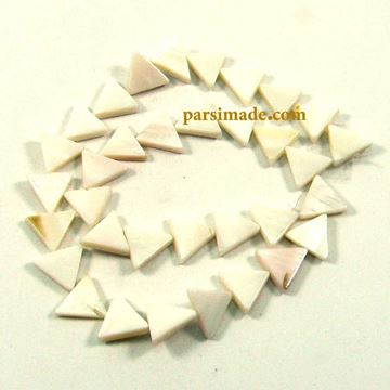 سنگ صدفی مثلثی شکل