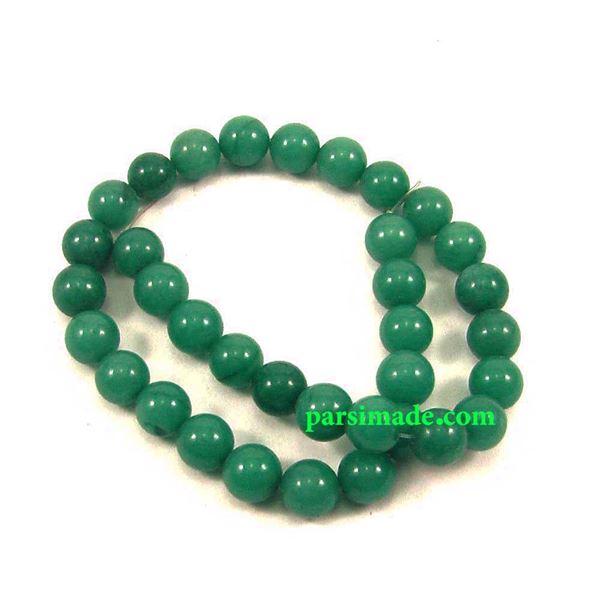 سنگ عقیق سبز سایز 10 میلیمتر