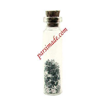 بطری کوچک شیشه ای سایز 45 میلیمتر