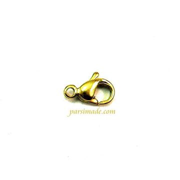 قفل دستبند طلایی استیل