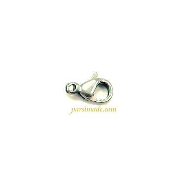 قفل دستبند نقره ای استیل