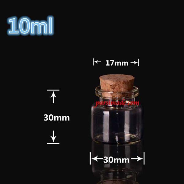 بطری کوتاه و پهن 3 × 3 سانتیمتر