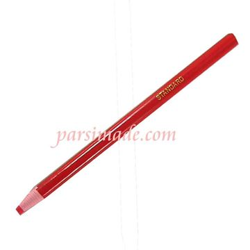 مداد خیاطی قرمز نخ دار