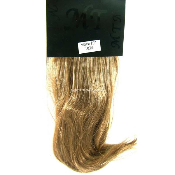 موی مصنوعی پوش پایین حالت دار کد 103