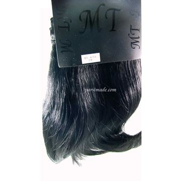 موی مصنوعی صاف پایین حالت دار کد 2