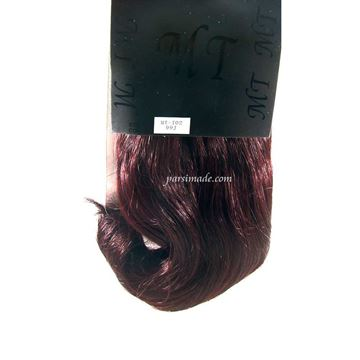 موی مصنوعی صاف کد رنگ 99J