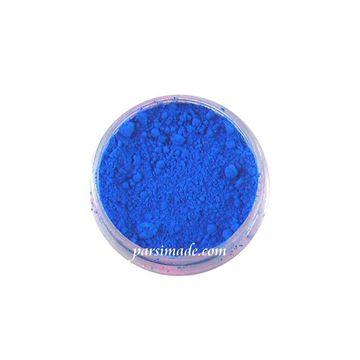 رنگ رزین پودری آبی فلورسنت