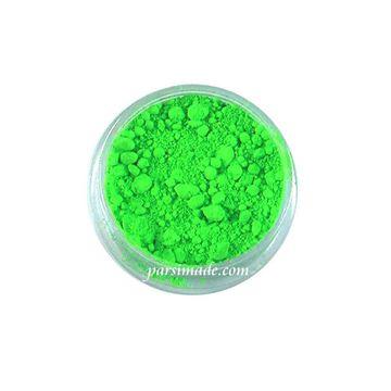 رنگ رزین پودری سبز فلورسنت