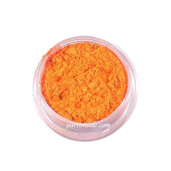 رنگ رزین پودری نارنجی صدفی