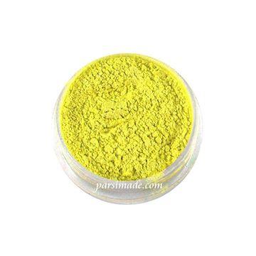 رنگ رزین پودری زرد صدفی