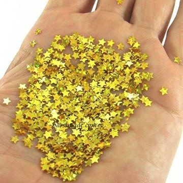 ستاره اکلیلی رنگ طلایی