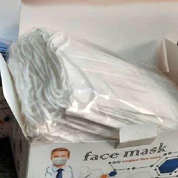 بسته ۵۰ عددی ماسک سه لایه