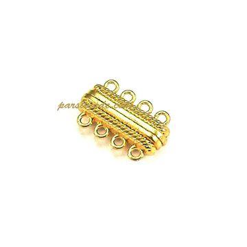 قفل آهنربایی طلایی ۴ حلقه